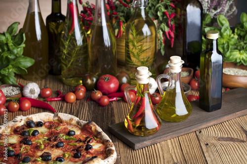 Foto op Canvas Pizzeria Italian food