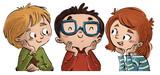 caras de niños felices - 128518986