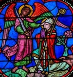 Stained Glass - the Archangel Michael