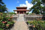 Tomb of Minh Mang of the Nguygen dynasty. Hue, Vietnam
