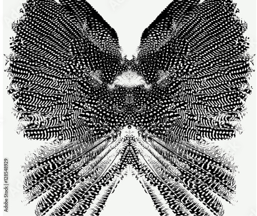 Wings pattern seamless - 128548929