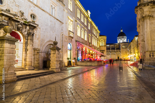 Foto op Aluminium Scandinavië Walking street in Dubrovnik