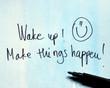 inspirational message wake up