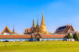 Bangkok, Thailand. Wat Phra Kaeo. Thailand's holiest temple.