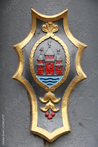 Poster Coat of arms of Copenhagen, Denmark Scandinavia