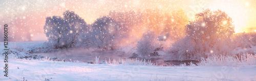 Papiers peints Blanc Colorful Christmas background