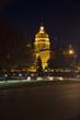 Iowa State Capitol at night