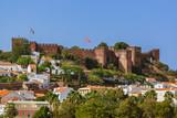 Castle in Silves town - Algarve Portugal - 128737158