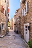 Narrow street in old town in Budva © Sergii Figurnyi