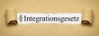 Integrationsgesetz