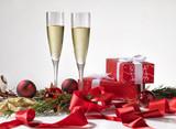 wine, star, decoration, new, holiday, bright, celebrate, festiv