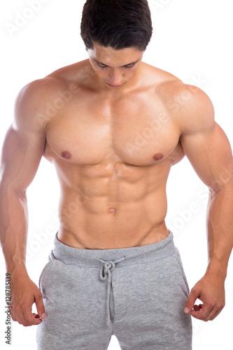 GamesAgeddon - Bodybuilder Bodybuilding Muskeln Bauchmuskeln Sixpack ...