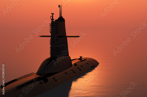 Poster The military ship