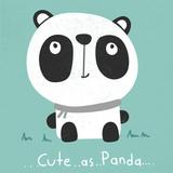 cute cartoon panda illustration vector - 128833711