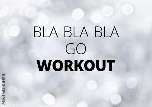 Plakát Fitness motivation quotes