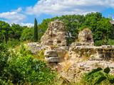 Roman Baths, ruins of the ancient Roman Thermae. Varna, Bulgaria
