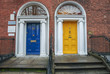 Vintage doors in Dublin - 128865510