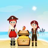 pirate children