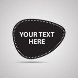 Векторная иллюстрация иконка простой символ плоский для веб  button кнопка ярлык метка