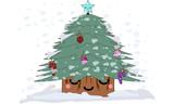 arbolito kawaii de navidad
