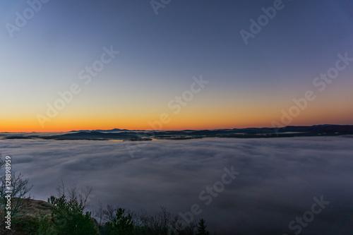 Valokuva Sunrise above the clouds