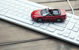 car on keyboard