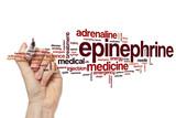 Epinephrine word cloud