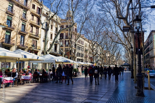 Barcelona, Les Rambles Poster