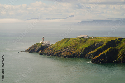 Poster Baily Lighthouse Peninsula, Howth, Dublin, Ireland