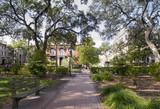Historic district of Savannah Georgia