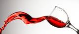 Red wine splash - 129020397