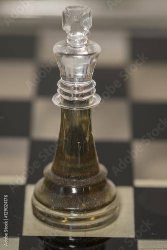 Poster Rey de ajedrez