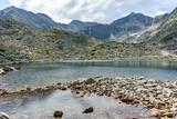 Musalenski lakes and Musala Peak, Rila mountain, Bulgaria