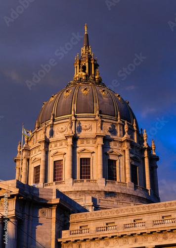 Plakát, Obraz San Francisco City hall rotunda