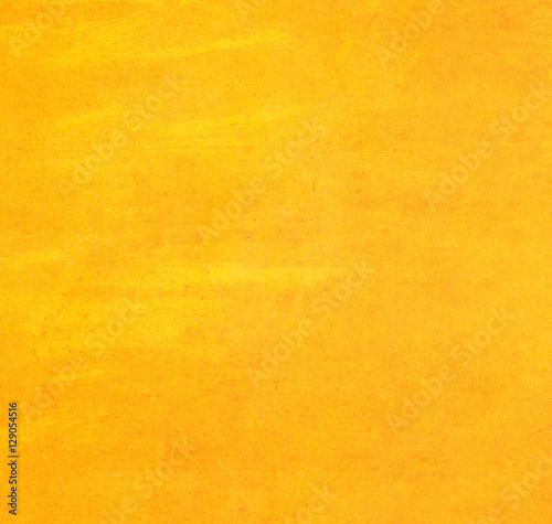 Plakat Yellow grunge wall for texture background