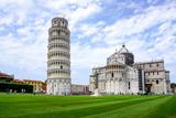 Krzywa Wieża w Pizie w Toskanii we Włoszech. Dziedzictwo światowego dziedzictwa UNESCO