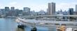Tokyo Bay area and Yurikamome Train ゆり�も�