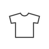 T-shirt icon vector - 129094394