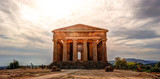 The famous Temple of Concordia in the Valley of Temples near Agrigento, Sicily - 129102553