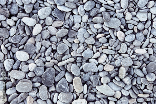 Sea pebbles background - 129104360