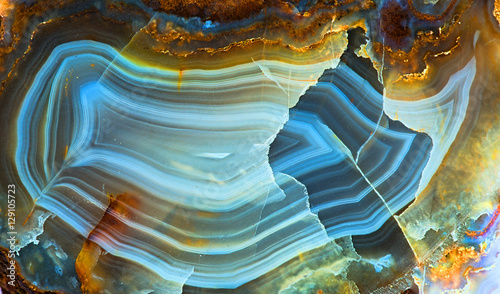 agate texture - 129105723