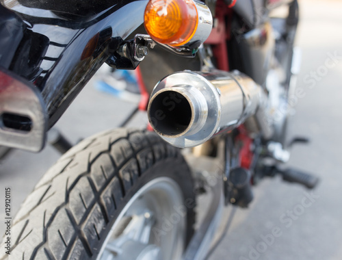 Détails sur la moto Poster