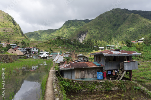 Batad village, Luzon, Philippines