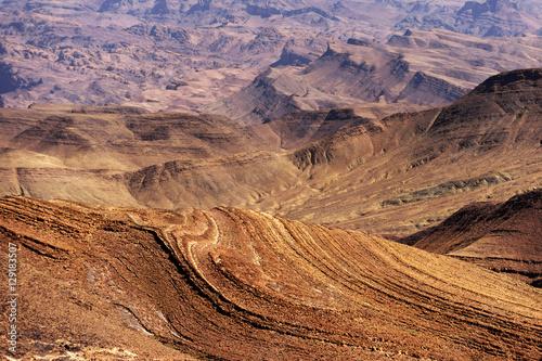 Poster Atlas mountains, Morocco, Africa