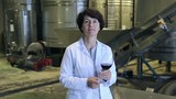 Expert examines equipment at winery and writes down remarks