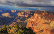 Awesome Landscape from South Rim of Grand Canyon, Arizona, Unite