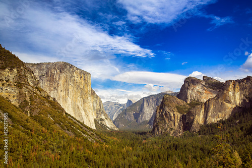 Tunnel View at Yosemite National Park