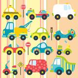 pattern car