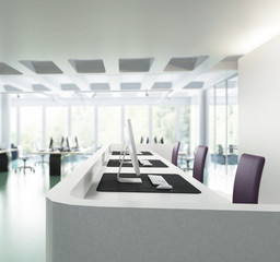 Büroeinrichtung 03 (Focus)