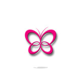 butterfly, logo, icon, symbol, beautiful